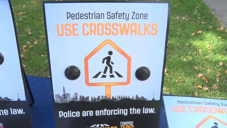 NJTV News: Campaign tells drivers and pedestrians to be 'Street Smart'