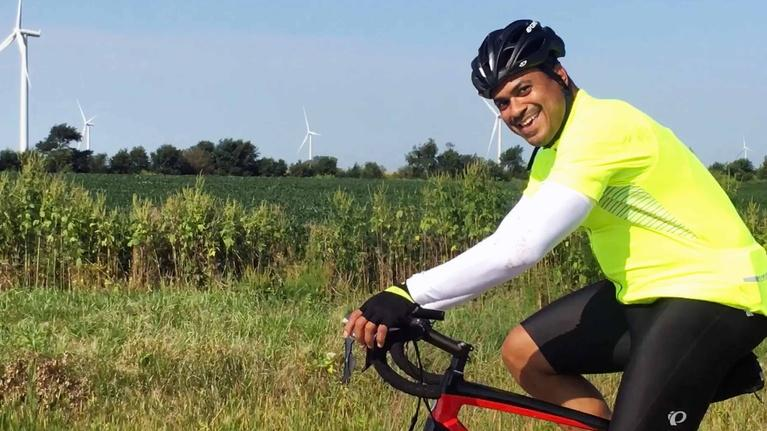 Chefs off the Clock: Mychael Bonner: Bicyclist
