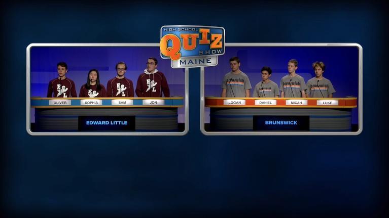 High School Quiz Show: Maine: Brunswick vs. Edward Little - Prelim
