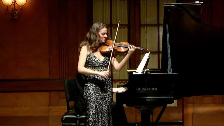 On Stage at Curtis: Violinist Ania Filochowska Graduation Recital