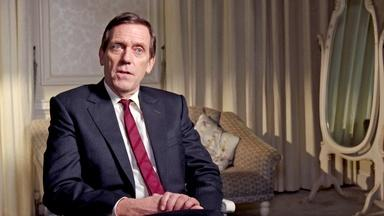 Hugh Laurie on Peter Laurence