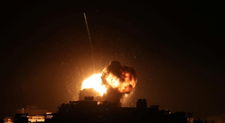 PBS NewsHour: News Wrap: More missile and rocket strikes in Gaza