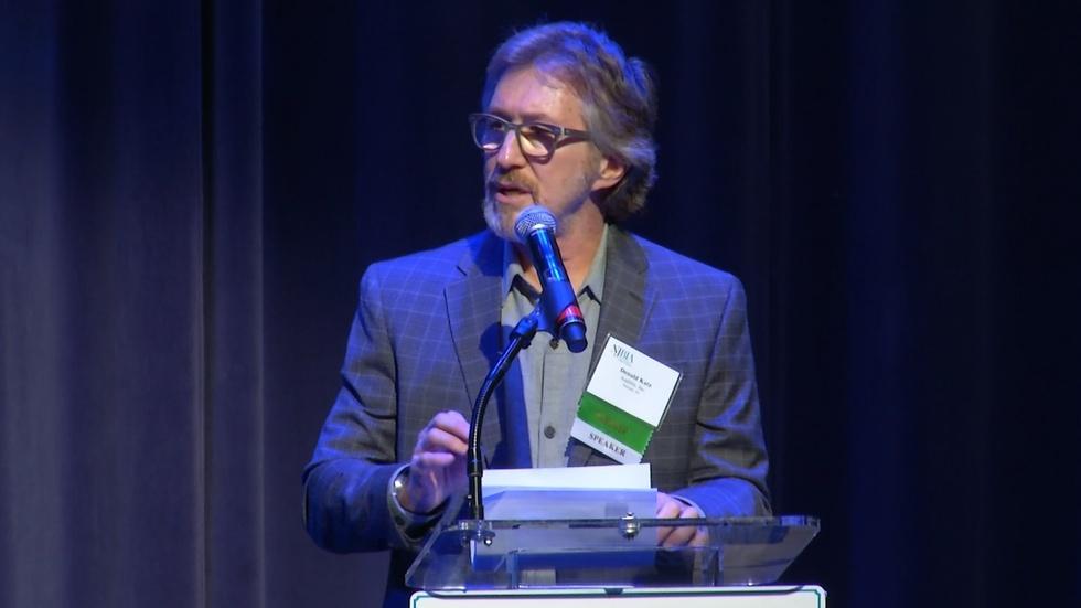 Murphy, Audible CEO keynote NJBIA tech forum image