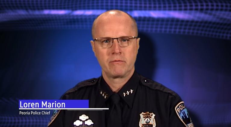 Peoria County Health Department: Loren Marion | Peoria Police Chief  | COVID-19 Update