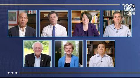 Former Democratic rivals endorse Biden | DNC Night 4