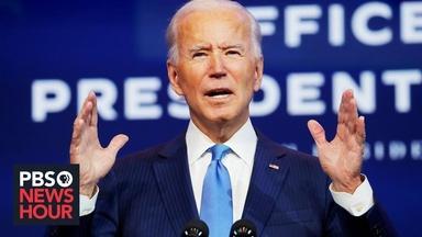 Biden speaks as Electoral College vote count paused