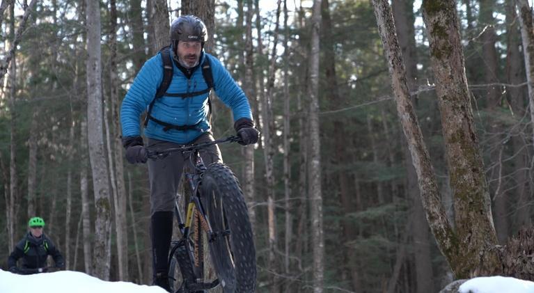 Assignment: Maine: Winter Fat Tire Biking