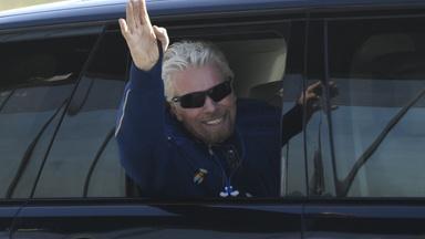Space race: Branson flies to space on Virgin Galactic