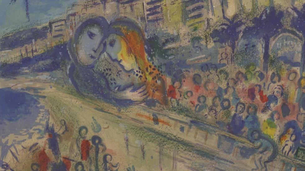 Appraisal: 1967 Sorlier Lithograph After Chagall image