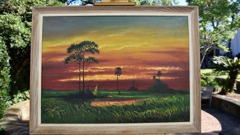 S24 E14: Harold Newton Landscape Oil, ca. 1955