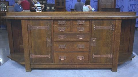 Antiques Roadshow -- S21 Ep25: Appraisal: Gustav Stickley Sideboard, ca. 1905