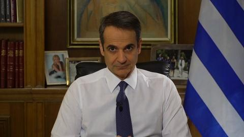 Amanpour and Company -- An Exclusive Conversation with Greek PM Kyriakos Mitsotakis