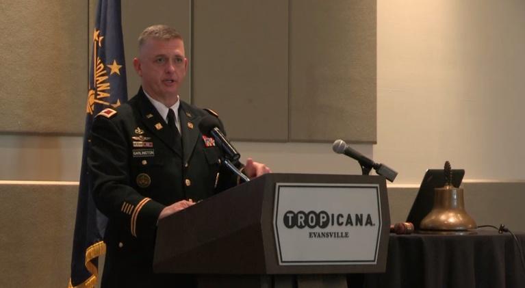 Evansville Rotary Club: Regional Voices: Col. Michael P. Garlinton