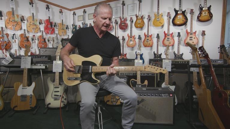Wisconsin Life: Dave's Guitars
