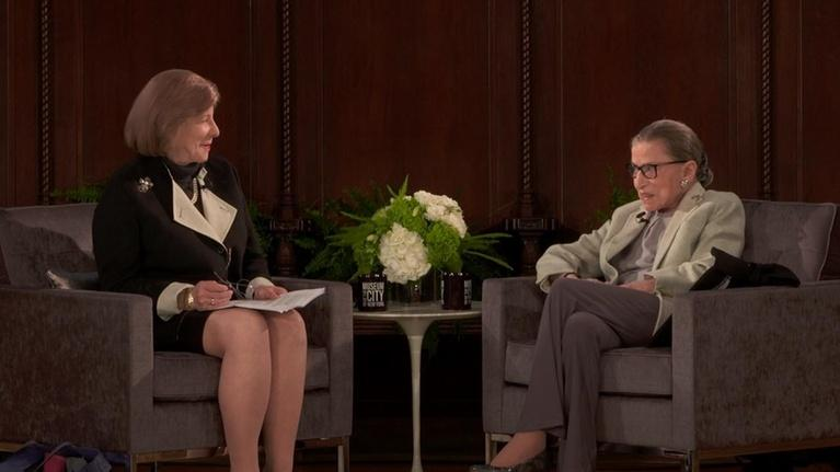 WLIW21 Specials: Justice Ruth Bader Ginsburg In Conversation – Preview