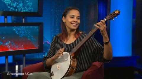 Amanpour and Company -- Rhiannon Giddens on African American Contributions to Music