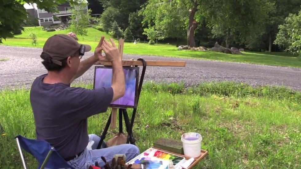 A Day In Vermont With Artist Peter Huntoon Ep 5 image