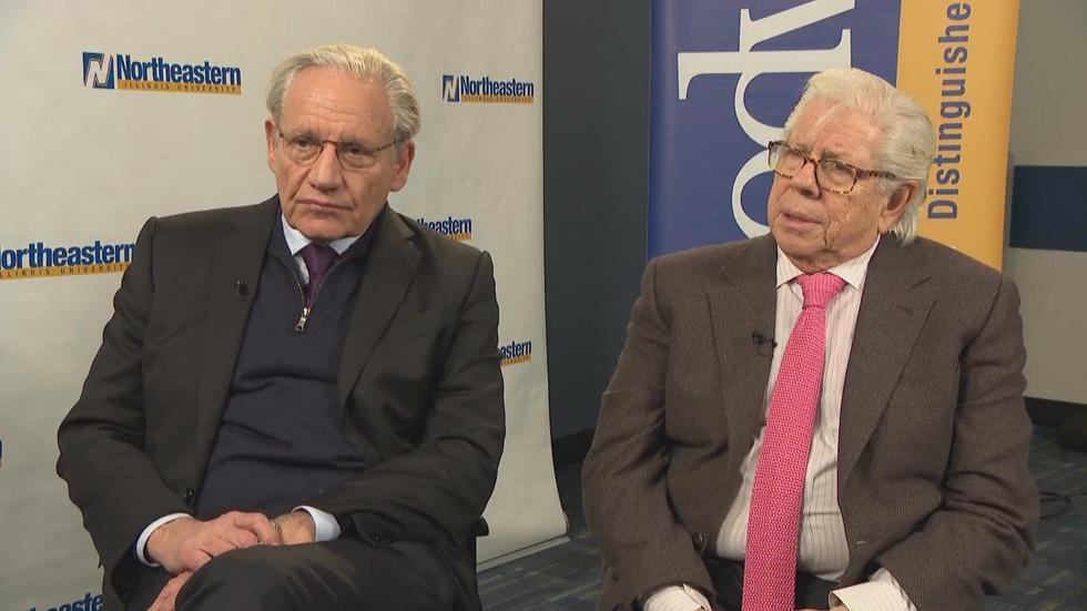 Web Extra: Bob Woodward and Carl Bernstein image