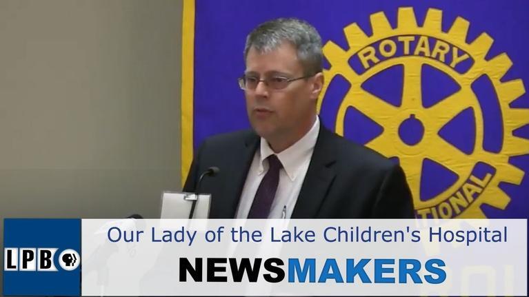 Press Club: Our Lady of the Lake Children's Hospital | Dr. Trey Dunbar