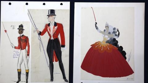 Antiques Roadshow -- Appraisal: Erté Circus Costume Drawing, ca. 1930