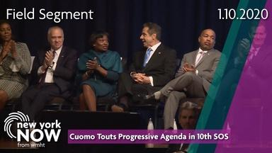 Cuomo Touts Progressive Agenda in 10th State of the State
