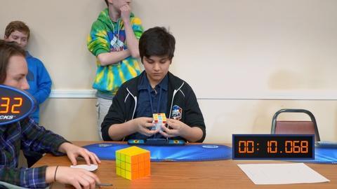 Local, USA -- Tariq's Cube