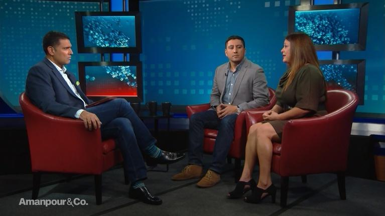 """Amanpour and Company: Cindy Shank & Rudy Valdez Discuss """"The Sentence"""""""