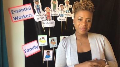 Family & Essential Worker ASL - Somer Stanley - Fourth Grade