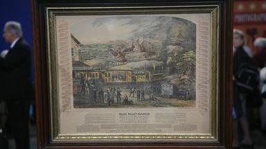 Appraisal: 1863 Railroad Temperance Lithograph