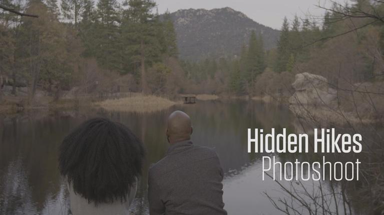 Hidden Hikes: Behind the Scenes: Photoshoot