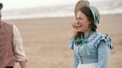 Sanditon -- The Cast on Filming Beach Scenes