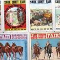 Appraisal: 1915 Sauk County Fair Posters