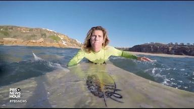 Big waves help this female surfer overcome her biggest fears