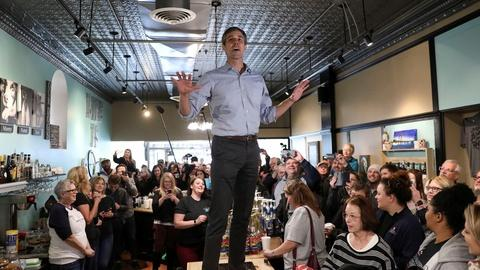 PBS NewsHour -- Big campaign week for O'Rourke and Yang -- what about Biden?