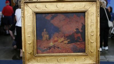 Antiques Roadshow | Appraisal: William Robinson Leigh Painting, ca. 1925