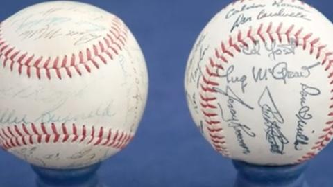 Antiques Roadshow -- Who Knew?! | Hand-Signed vs. Machine-Stamped Baseballs