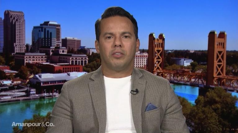 Amanpour and Company: Rev. Sam Rodriguez on the Latinx Response to President Trump