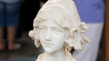 Appraisal: Italian Alabaster & Micromosaic Bust, ca. 1895
