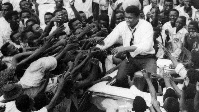Muhammad Ali Embarks on a Tour Across Africa