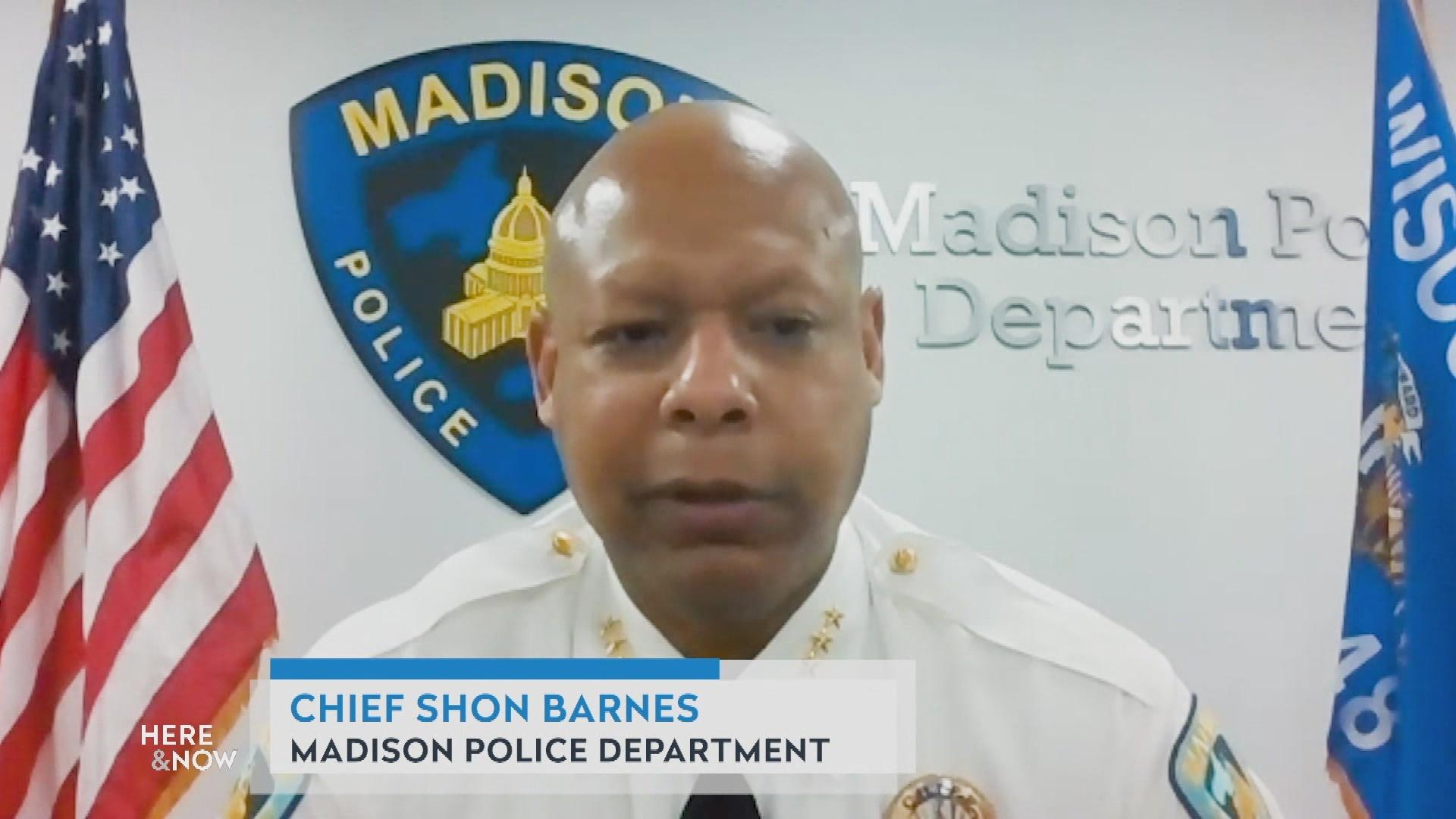Shon Barnes Takes Over as Madison's Police Chief