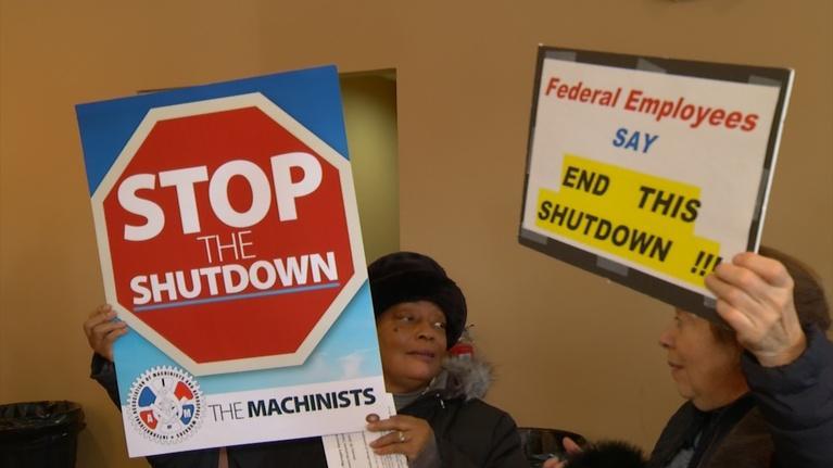 NJTV News: Federal workers in Jersey feeling effects of shutdown