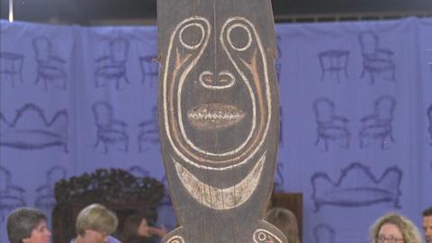 Antiques Roadshow -- S21 Ep19: Appraisal: Decorative Papuan Protective Figure