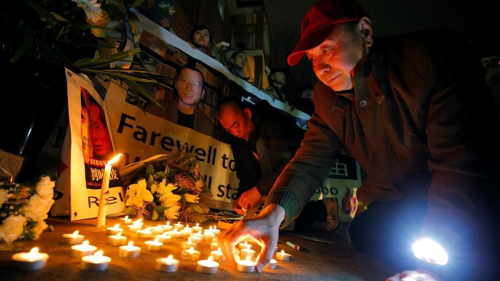 Nobel laureate Liu Xiaobo's fight to democratize China image