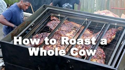 Nourish -- How To Roast a Whole Cow