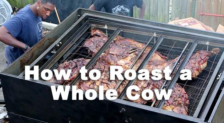 Nourish: How To Roast a Whole Cow