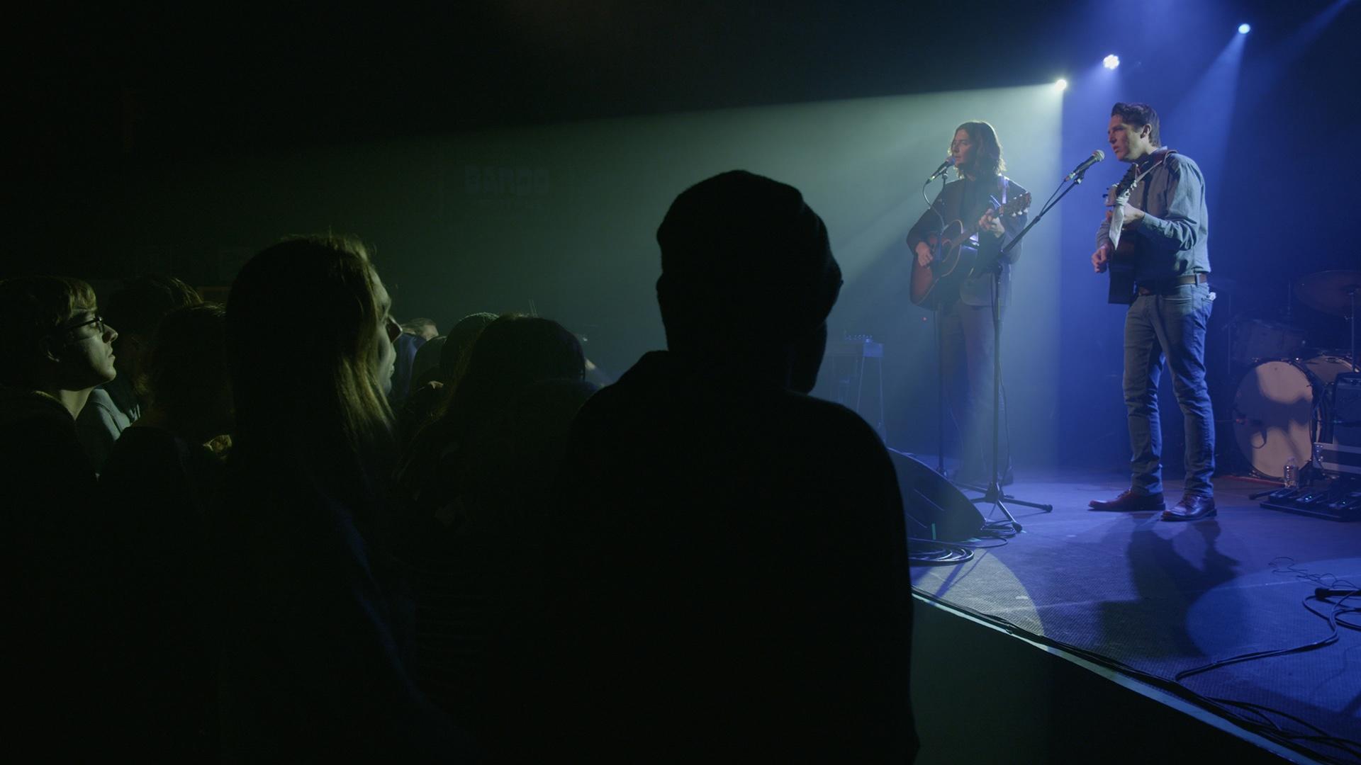 Milk Carton Kids perform live at Higher Ground