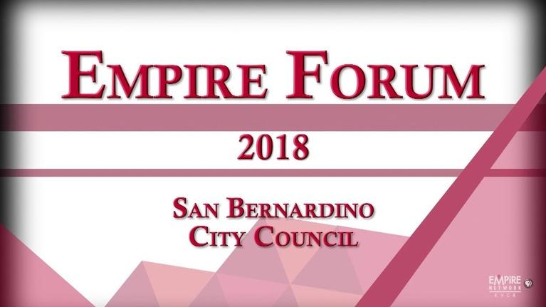 Empire Forum: San Bernardino City Council