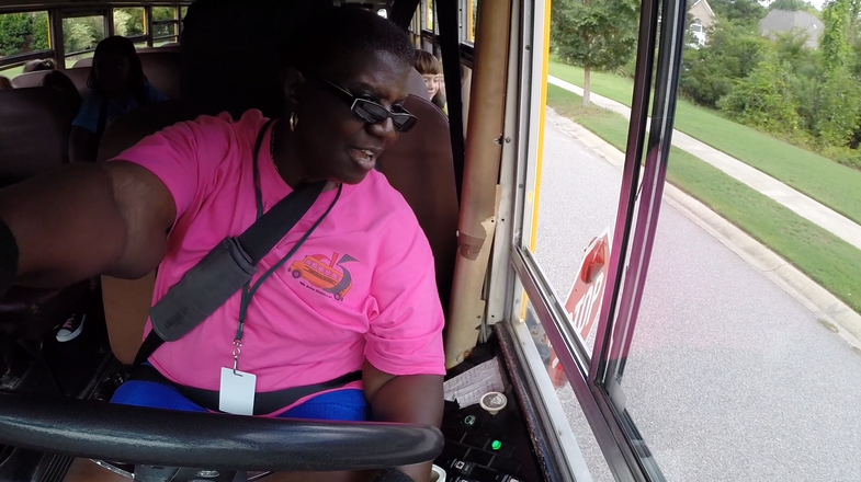 School Bus Driver Francine Jackson logo
