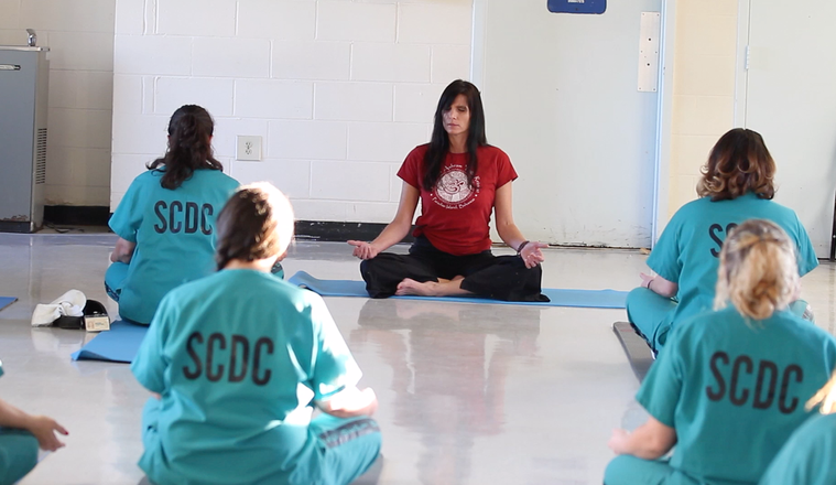 Prison Yoga Teacher Angela Still logo