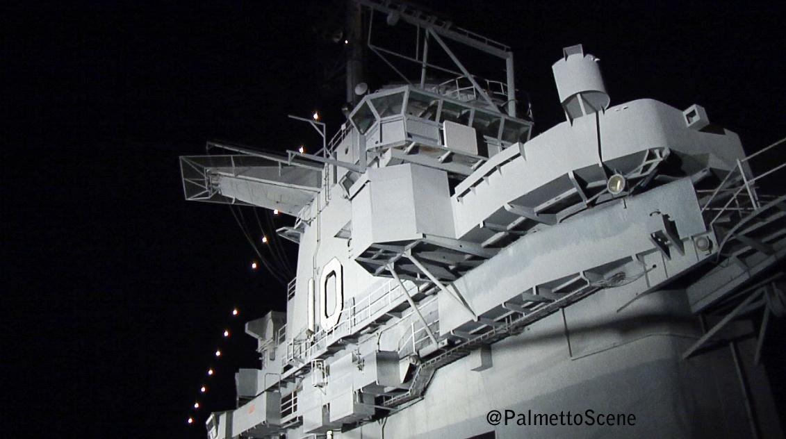 Ghost Caught on Camera at USS Yorktown